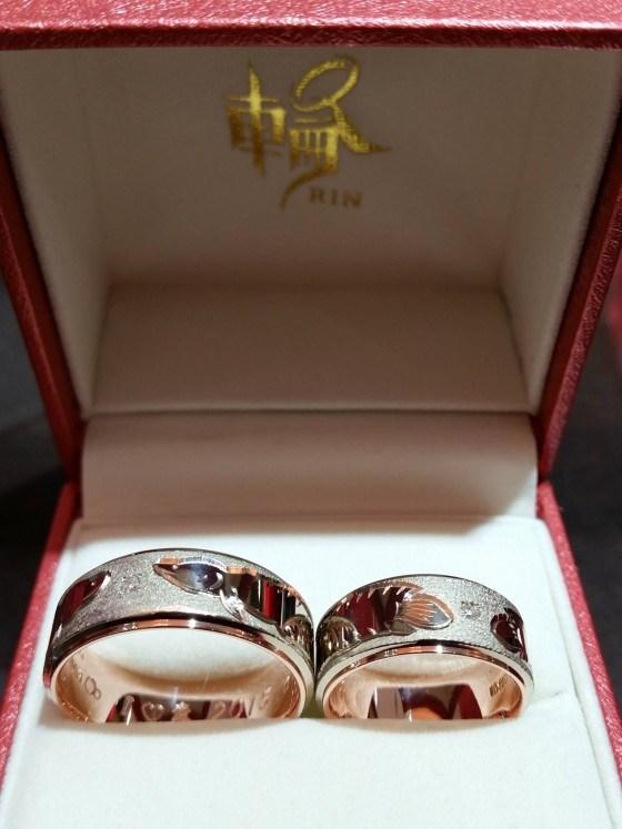 結婚指輪 輪1