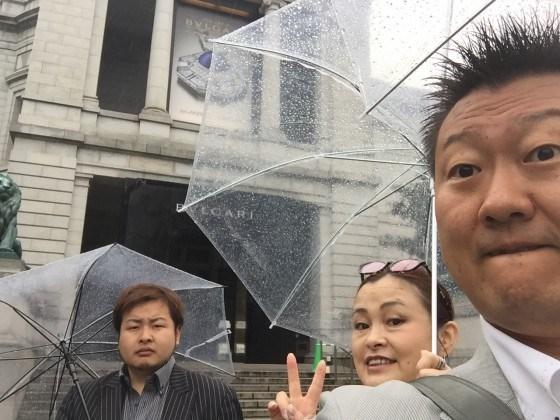 東京国立博物館にて