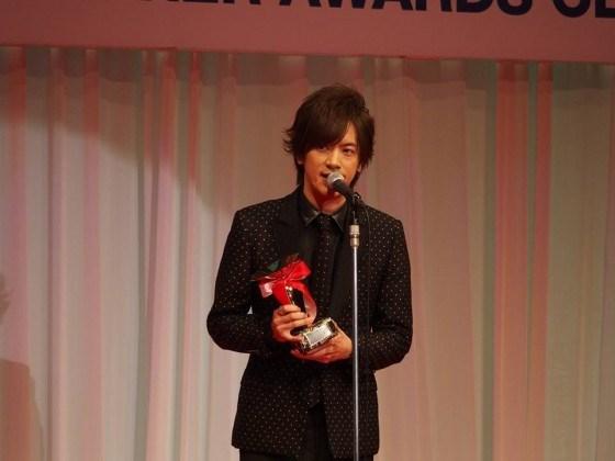 ベストドレッサー賞のDAIGOさん