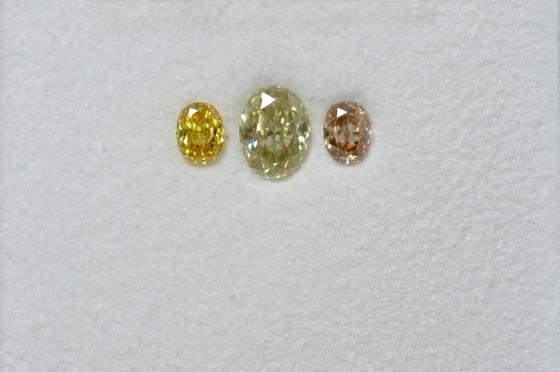 天然カラーダイヤモンド