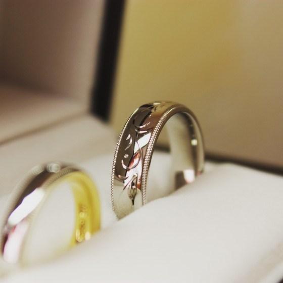 幅広のリング