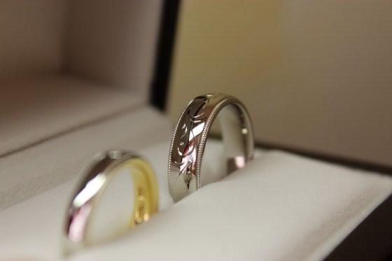鍛造指輪の鏡面仕上げ