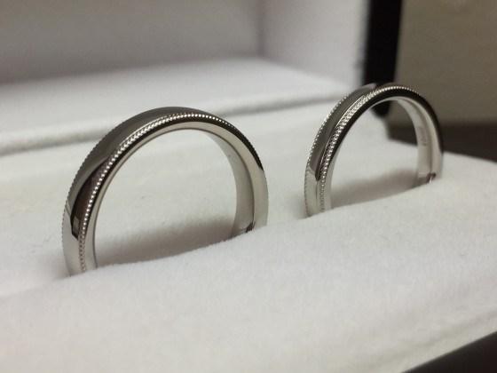 THE 鍛造結婚指輪!