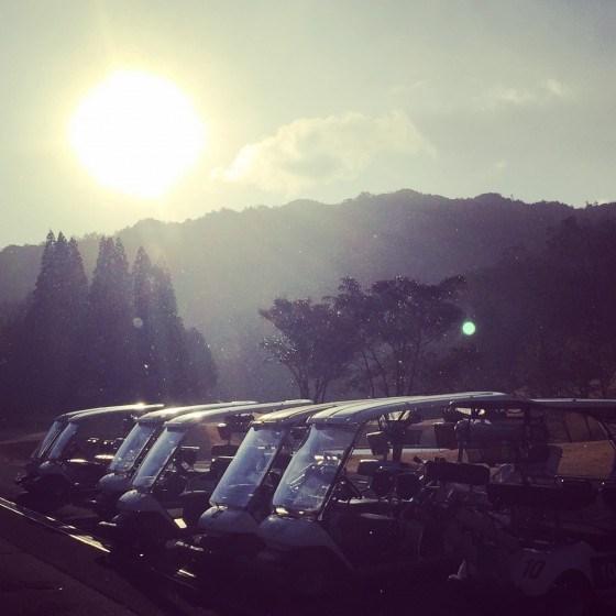 ジュエルミキ主催、チャリティダイヤモンドゴルフコンペ