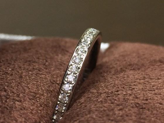 鍛造製法指輪 フルエタニティオススメ