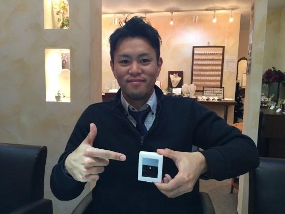 ジュエルミキ延岡店にてダイヤモンド婚約指輪とコラニー結婚リングをご成約頂きました