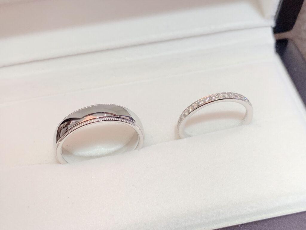 エタニティリング 結婚指輪